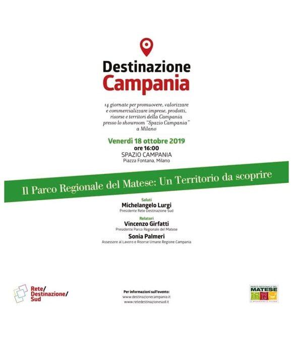 Destinazione Campania 18 ottobre 2019